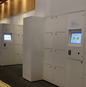 Automated High-Tech Password Lockers